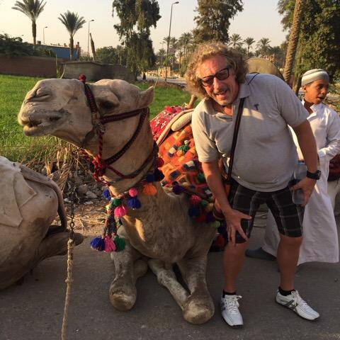 Camel Ride at Giza