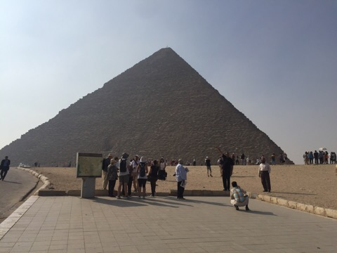 Khufu's Pyramid, The Great Pyramids of Giza