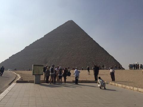 Khufu's Pyramid, The Great Pyramids of Giza
