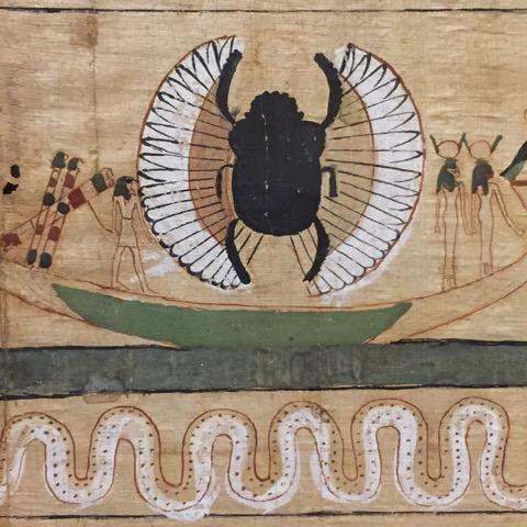 egyptian art bug