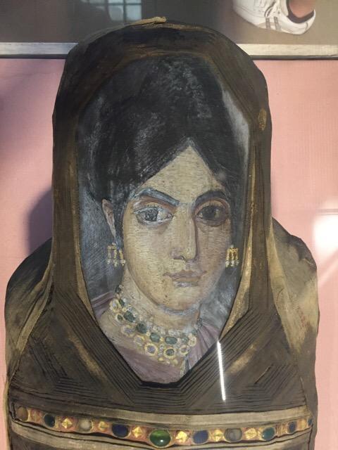Coptic Christian Mummy Face